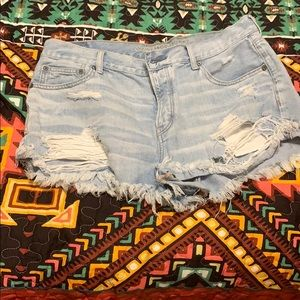 American Eagle Tomgirl Shortie Shorts